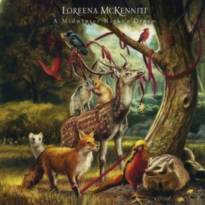 Loreena McKennitt A Midwinter Night´s Dream CD Cover