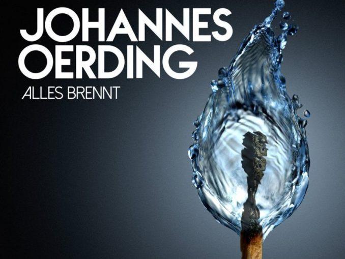 Johannes Oerding Alles brennt Album Cover