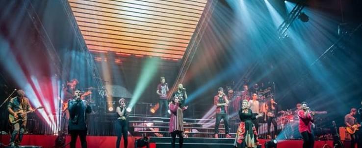 Die Finalisten von The Voice of Germany am 11.01.2015 live in der Arena Trier