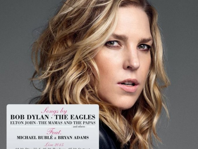 Diana Krall Wallflower CD Cover