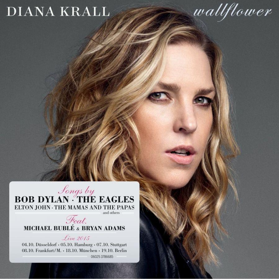 """Diana Krall schafft den Spagat zwischen Pop und Jazz: """"Wallflower"""""""