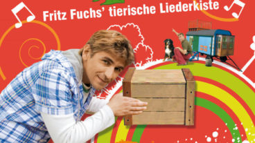 """Löwenzahn: """"Fritz Fuchs´ tierische Liederkiste"""" – das erste Musikhörspiel zur beliebten TV-Serie"""