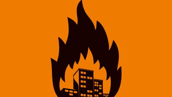 Radio Havanna Unsere Stadt brennt Album Cover