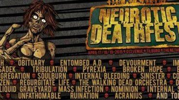 Neurotic Deathfest stellt das Line-Up für 2015 fast fertig!