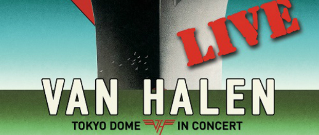Van Halen Live Tokyo Dome In Concert Album Cover