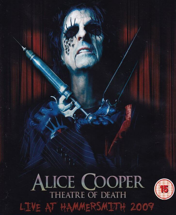 "Alice Cooper spielt im ""Theatre Of Death"""