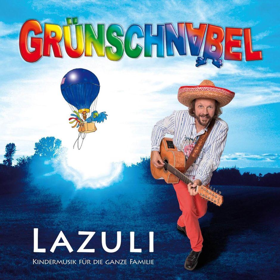 """Grünschnabel präsentiert auf seiner neuen CD """"Lazuli"""" Kindermusik für die ganze Familie"""