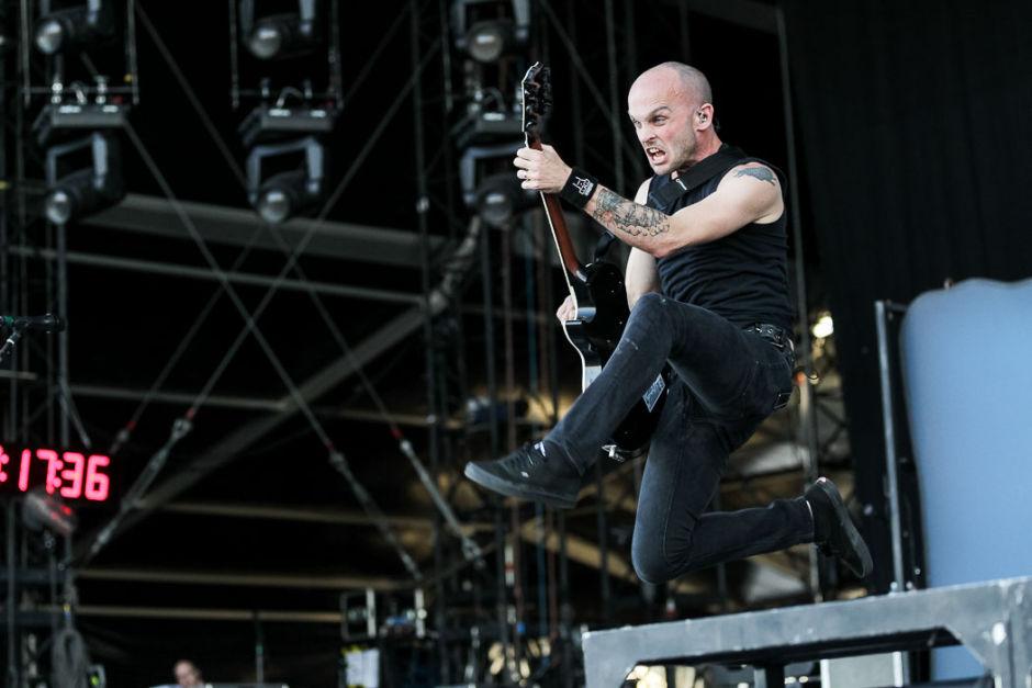 Rise Against Gitarrist Zach Blair im Interview in Berlin
