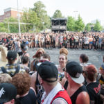Festival - Besucher beim Vainstream Festival 2015