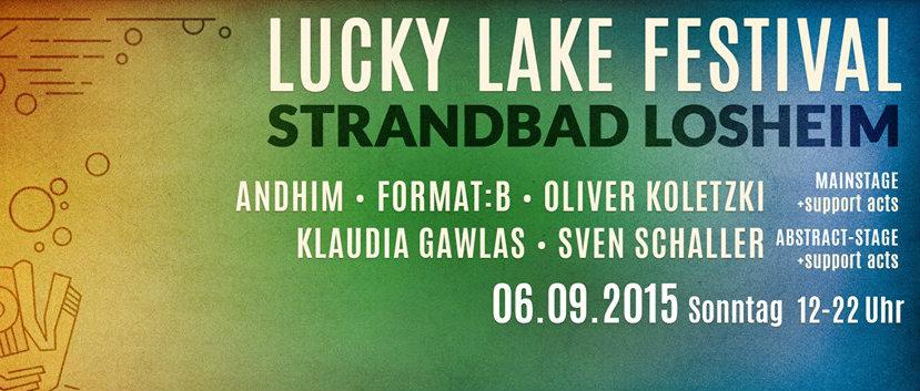 LUCKY LAKE in Losheim/Saar – Glück ist, wenn der Bass einsetzt