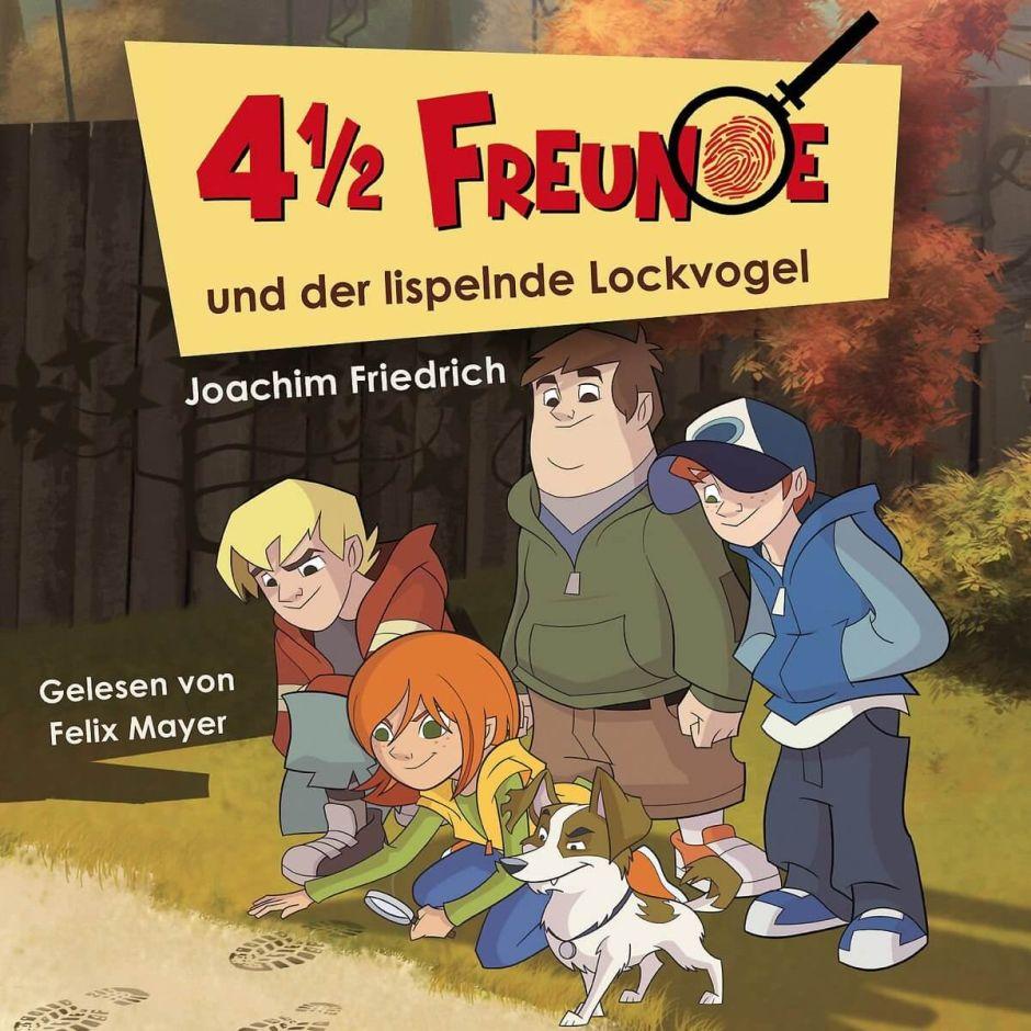 Krimi-Spannung mit den 4 ½ Freunden