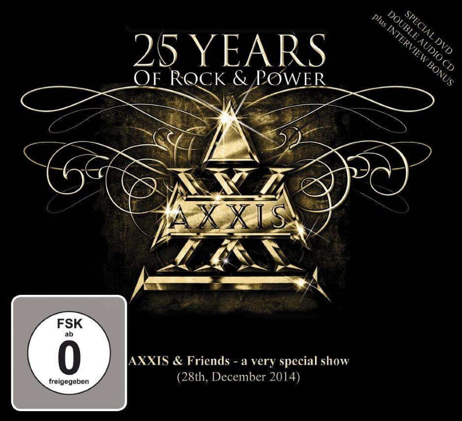 """Axxis feiern ihr Jubiläum auf DVD: """"25 Years Of Rock & Power"""""""