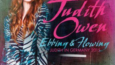 """Judith Owen: """"Ebbing & Flowing"""" – die live CD """"Judith in Germany 2015"""""""