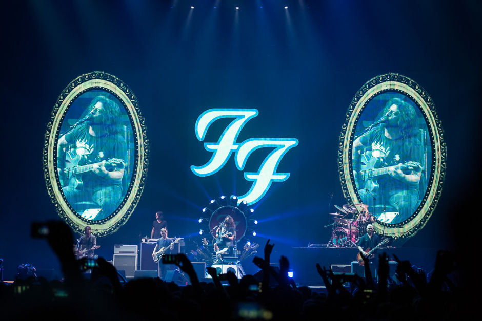 Foo Fighters am 08.06.2021 in der Berliner Waldbühne
