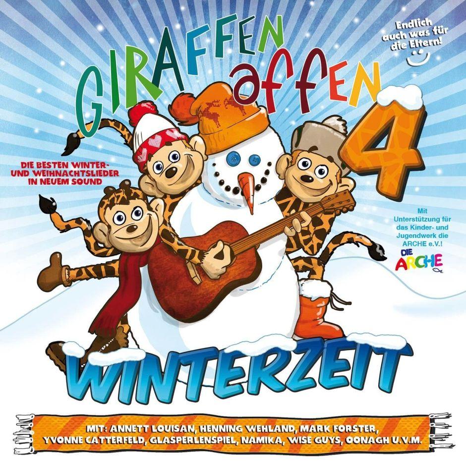 """Giraffenaffen 4 – nun auch zur """"Winterzeit"""""""