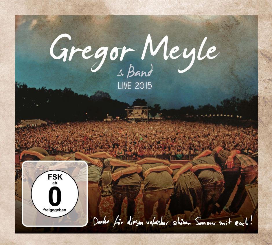 Gregor Meyle & Band: Live 2015 – CD mit Bonus-DVD