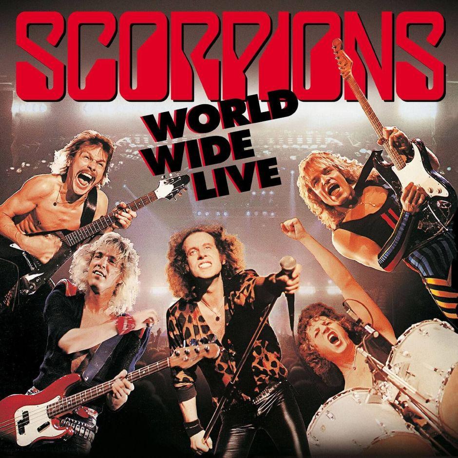 """Scorpions – ein weiterer Blick in die Vergangenheit mit """"World Wide Live"""""""