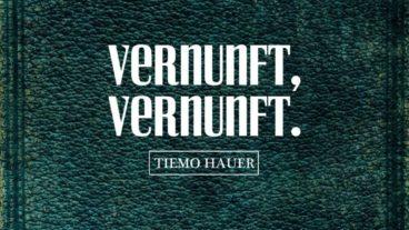 Tiemo Hauer sucht die Vernunft im Rocksound