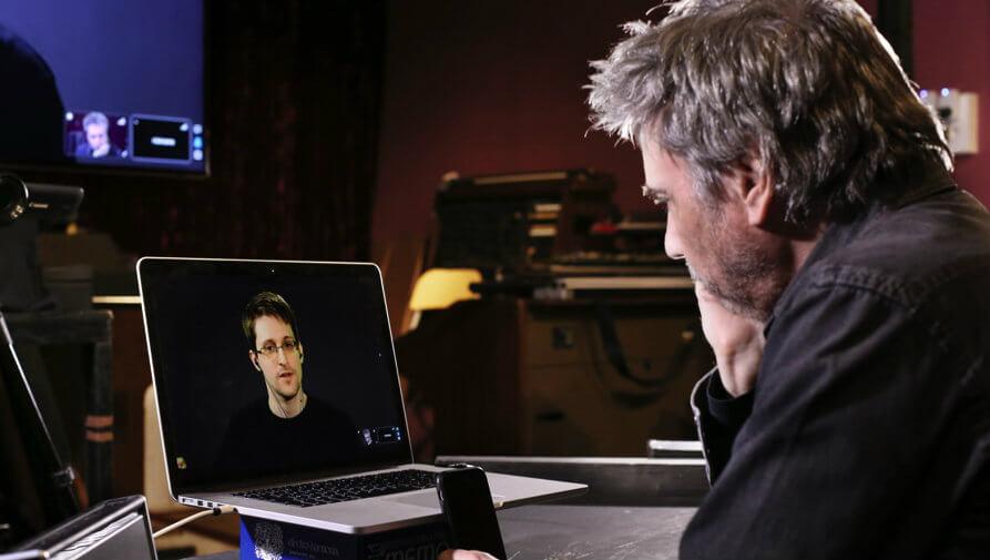 Edward Snowden kollaboriert mit Jean-Michel Jarre