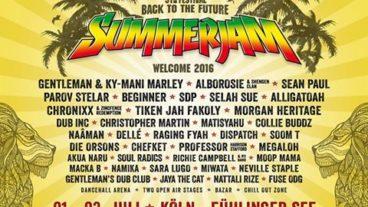 Beginner beim Summerjam Festival 2016!