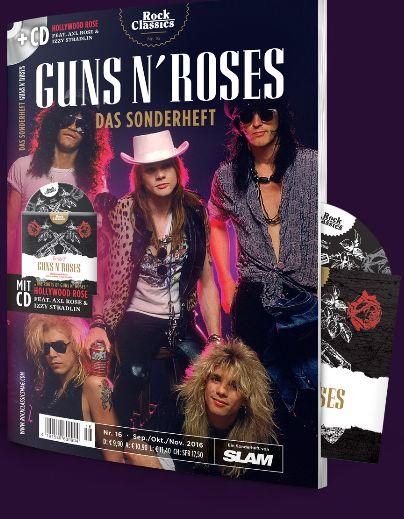 Sonderheft zum Thema Guns N' Roses