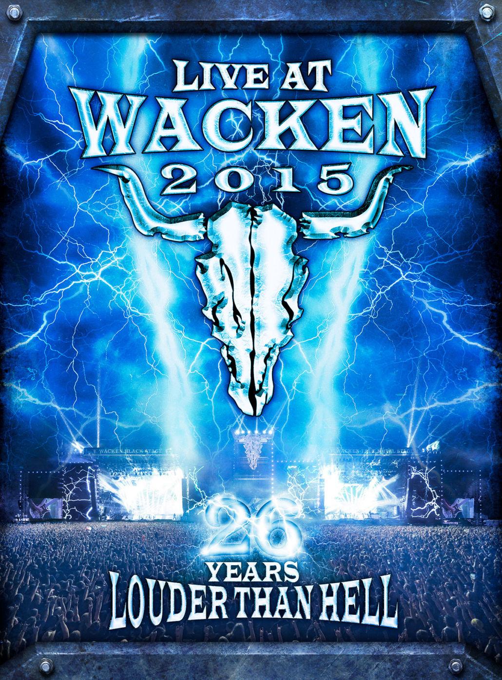 Wacken – die DVD zum Festival 2015