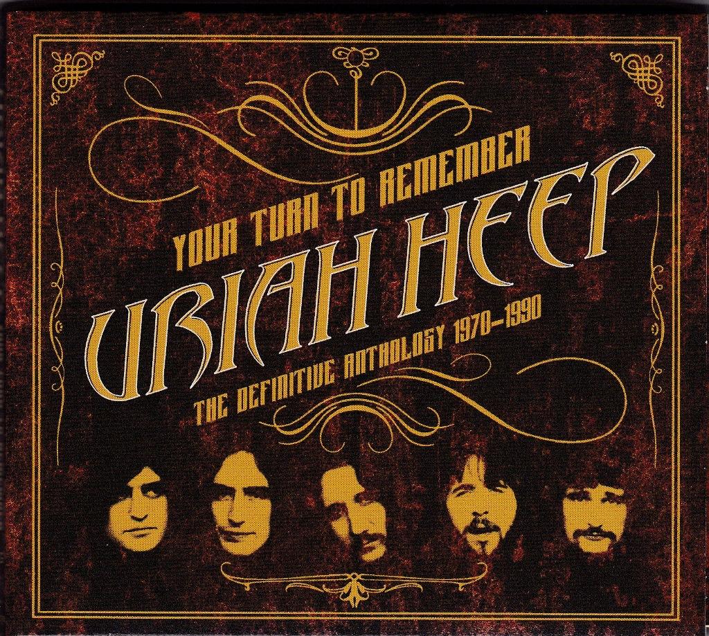 "Uriah Heep: Neuauflage startet mit ""Anthology 1970-1990"""