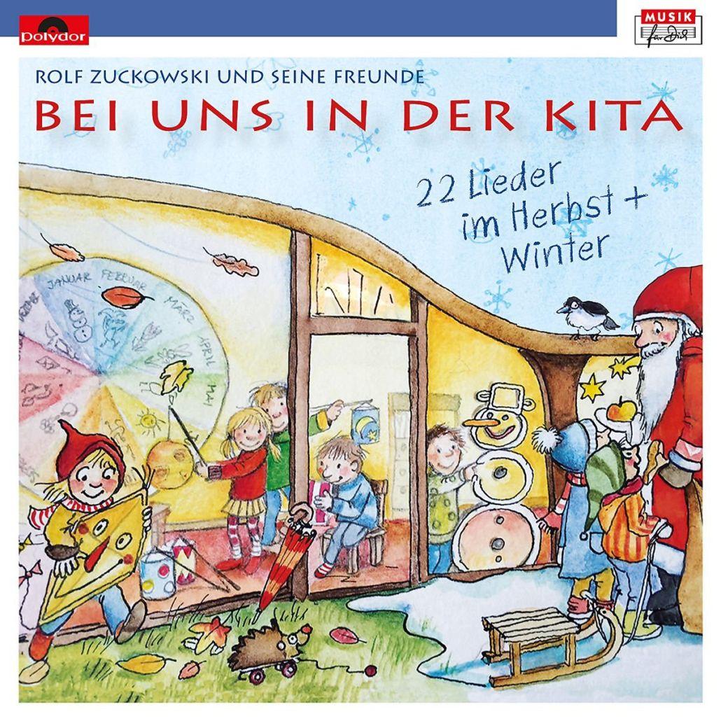 Rolf Zuckowski komplettiert seine Kita-Liedersammlung
