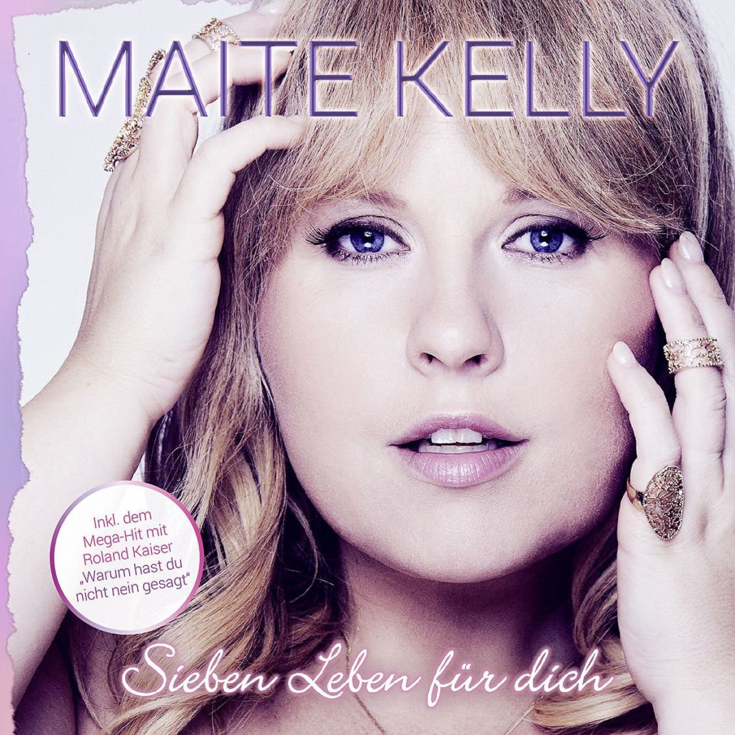 """Maite Kelly  betritt mit """"Sieben Leben für dich"""" die Welt des Schlagers"""