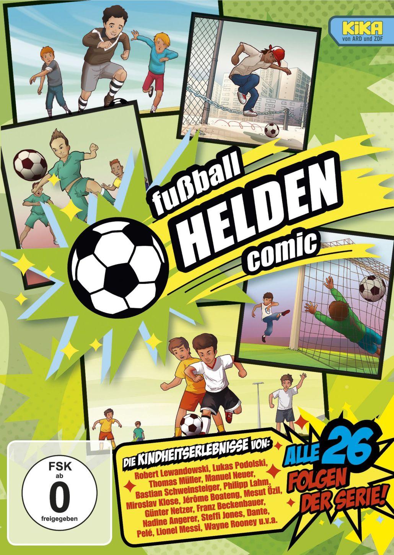 Fußball Helden Comic – jetzt auch auf DVD