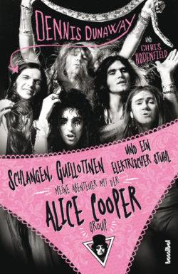 Alice Cooper Schlangen, Guillotinen und ein elektrischer Stuhl bei Amazon bestellen