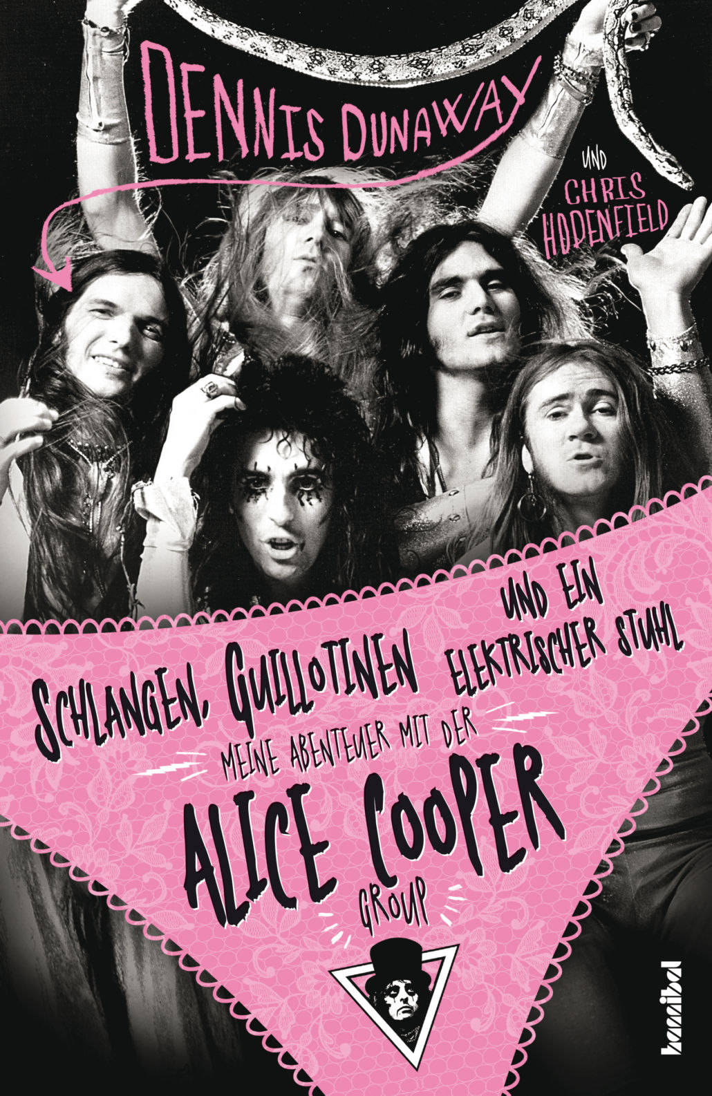 Dennis Dunaway – die Biographie zur Alice Cooper Group