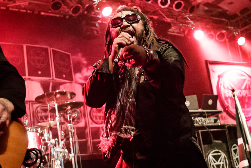 Skindred – Fotos aus der Essigfabrik in Köln 2016