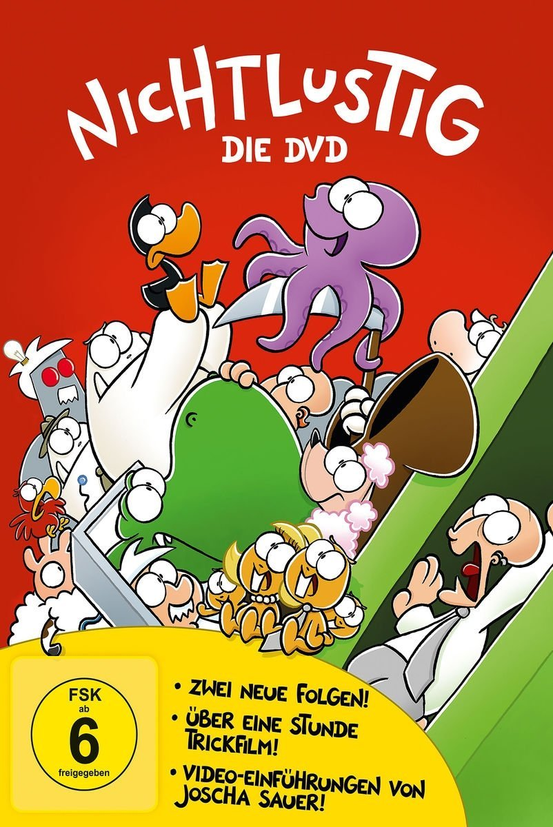 NICHTLUSTIG – die Cartoons von Joscha Sauer jetzt auch auf DVD