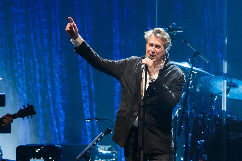 Bryan Ferry in der Mitsubishi Electric Halle in Düsseldorf