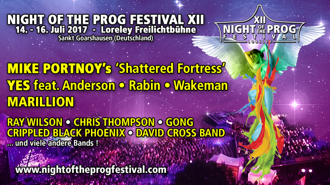 Night Of The Prog Festival 2017