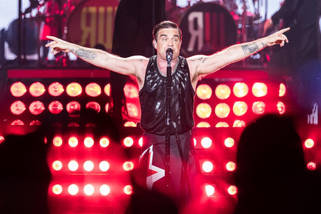 Exklusives Deutschlandkonzert von Robbie Williams am 13.06.2021 in Bonn