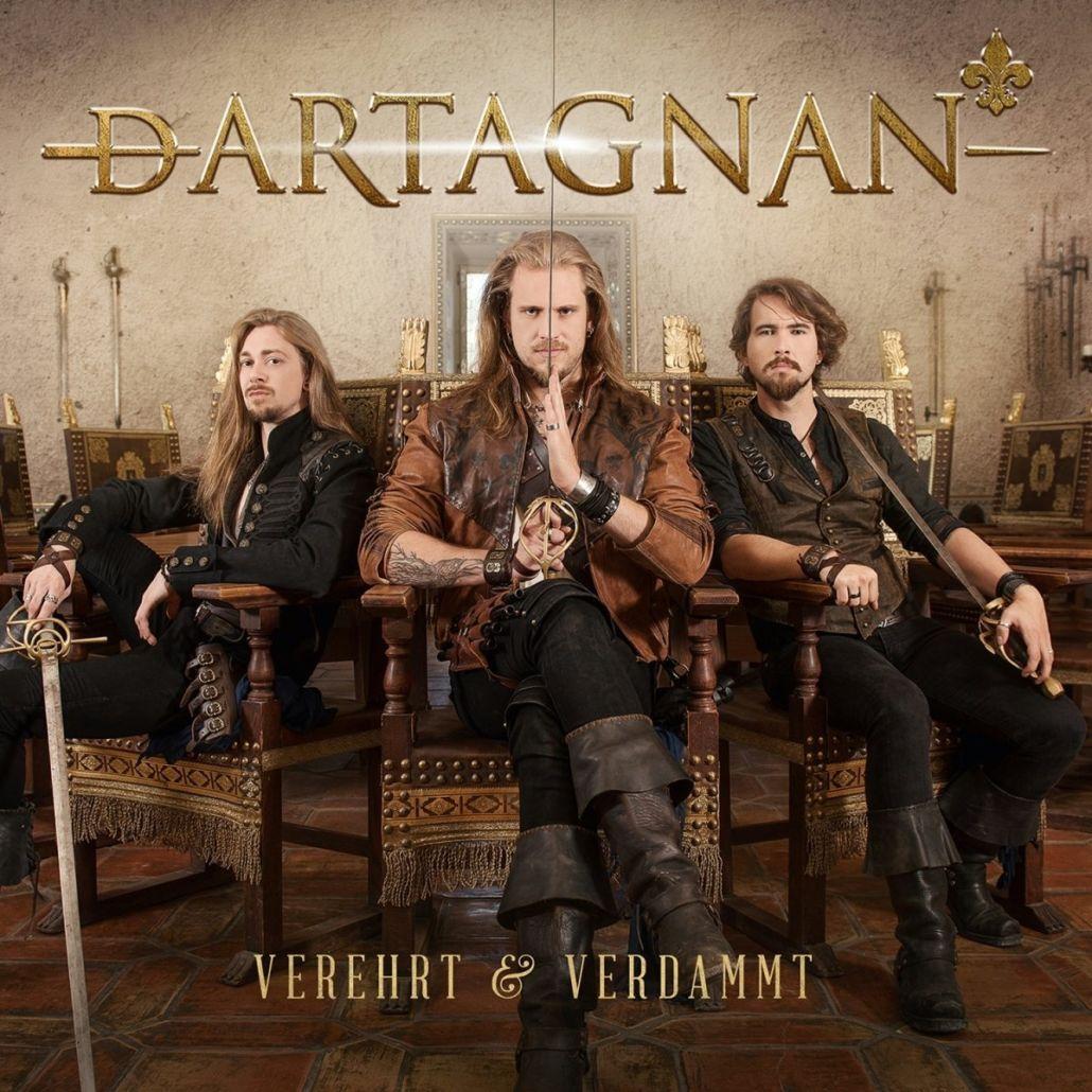 """dArtagnan, die musikalischen Musketiere: """"Verehrt & Verdammt"""""""
