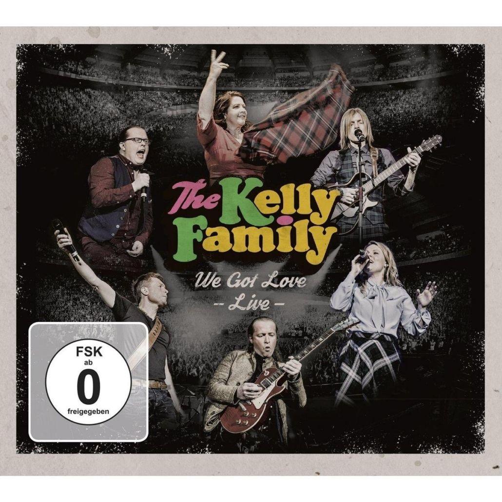The Kelly Family – We Got Love – live CD / DVD