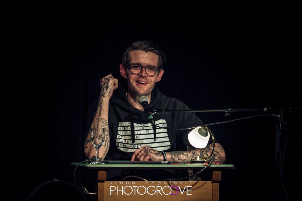 Nicholas Müller – Lesung im Kasino Trier 2017 – Fotos