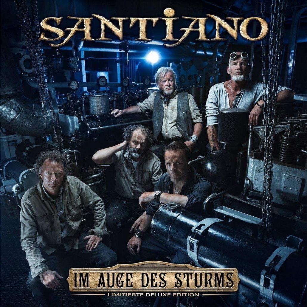 """Santiano: Auch """"Im Auge des Sturms"""" entert Platz 1 der Charts"""