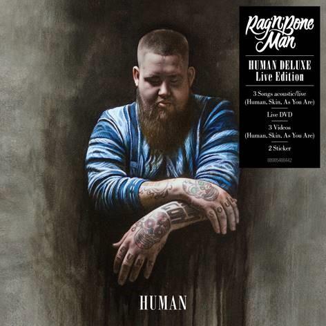 Rag'n'Bone Man mit Deluxe Live Edition seines Hitalbums Human