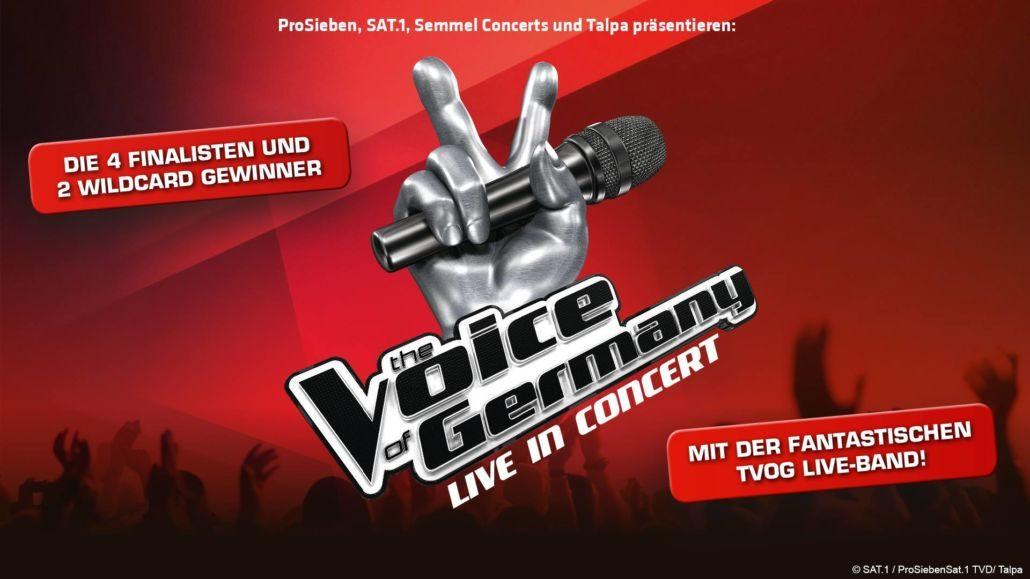 The Voice of Germany – Bericht vom Konzert in Koblenz, 4.1.2018
