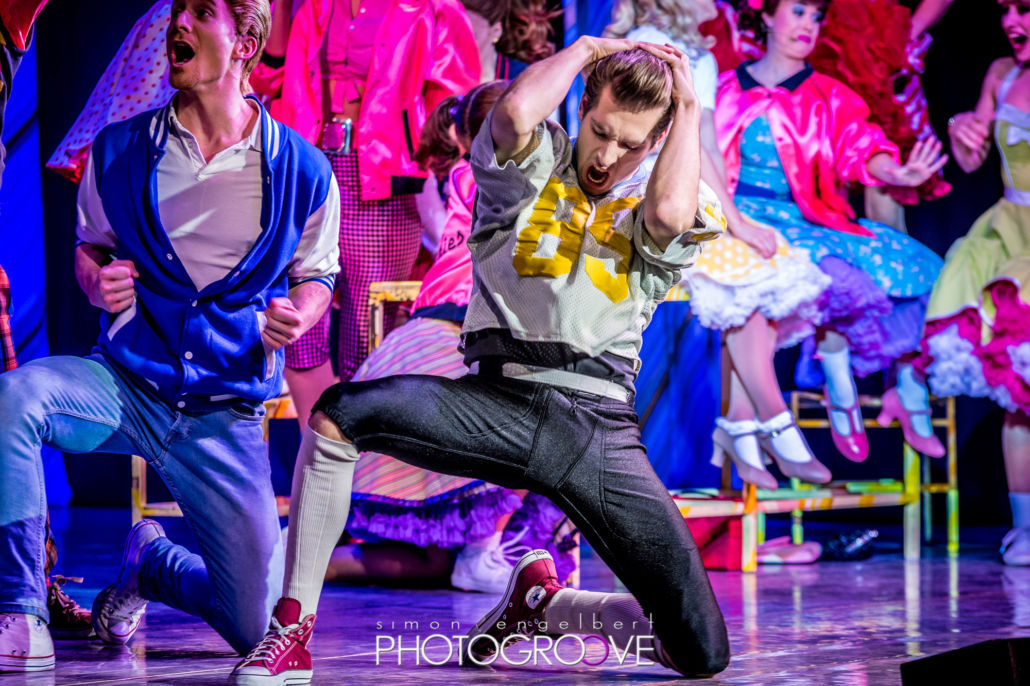GREASE – das Musical. Fotos aus der Europahalle Trier, 17.3.2018