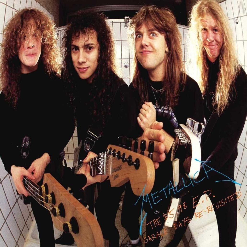 """Metallica: frühe """"Garage Days""""-Cover-EP erscheint als Neuauflage"""