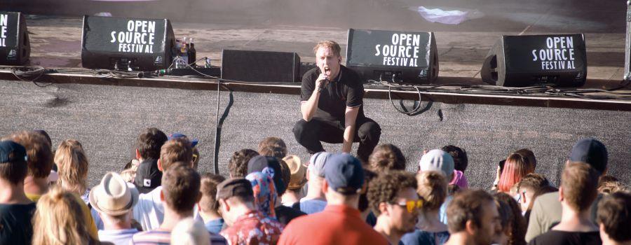 Zugezogen Maskulin auf dem Open Source Festival 2018