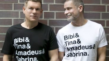 Peter Plate mit Bibi und Tina