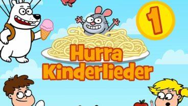 Hurra Kinderlieder – das erste Album zum erfolgreichen YouTube-Kanal