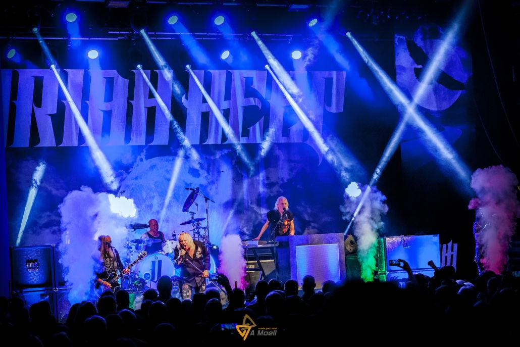 Uriah Heep am 3.11.2018 in der Europahalle Trier