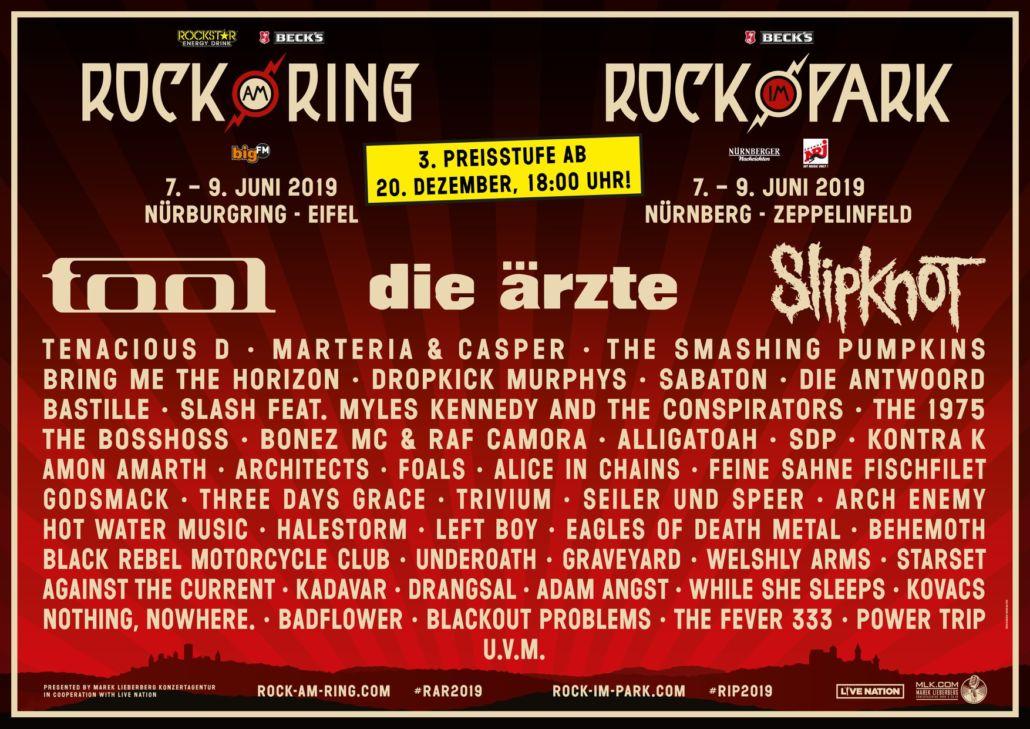 Rock am Ring – neue Bands bestätigt – in Kürze zündet Preisstufe 3